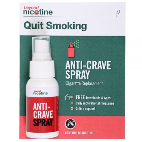 Beyond Nicotine cigarette replacement Anti-Crave Spray